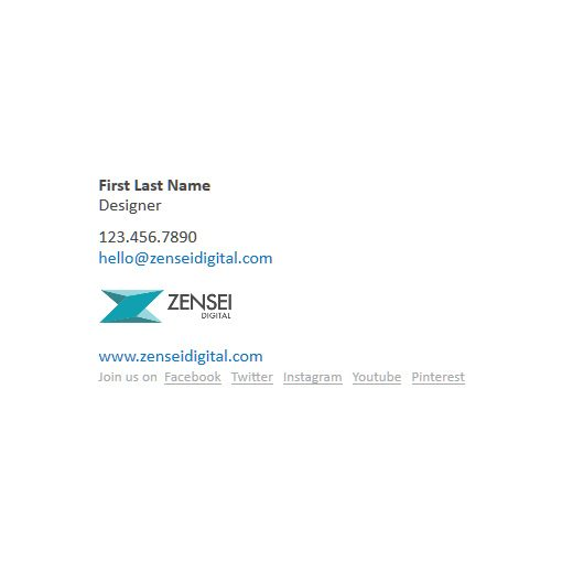 Email Signature Design 02