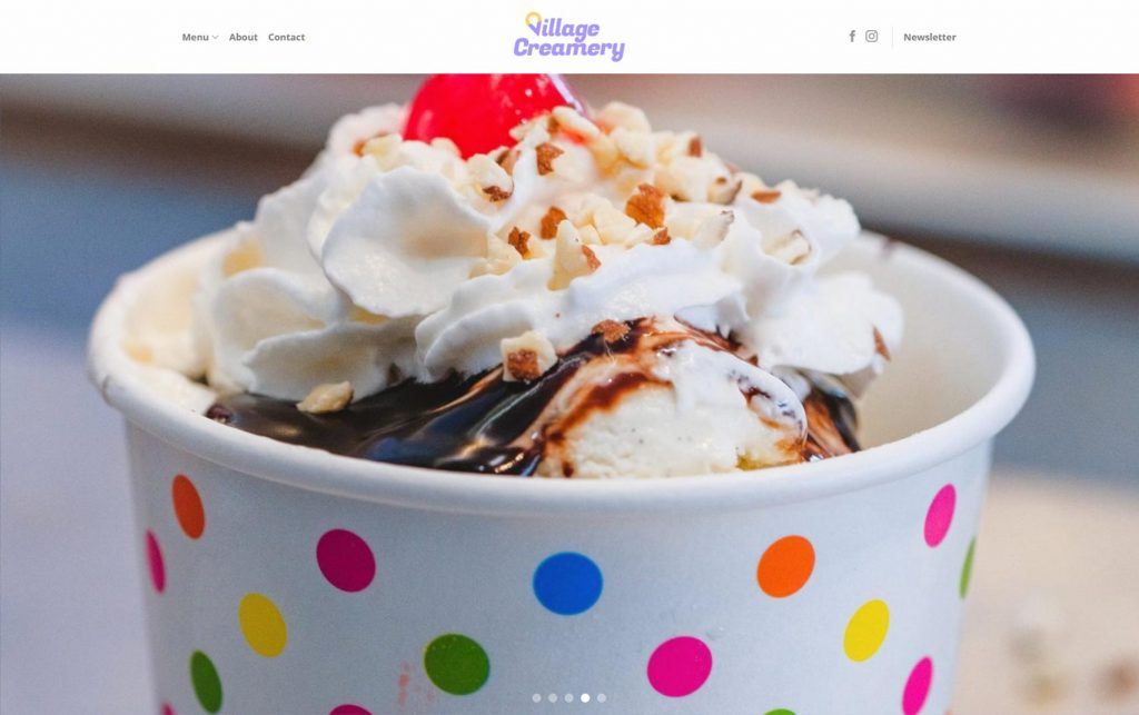 village creamery website